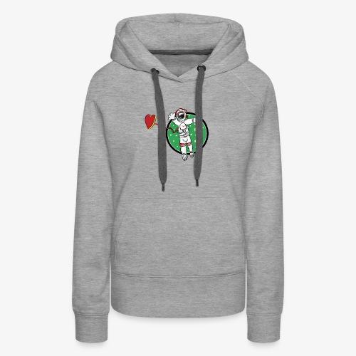 SMR spaceman tshirt - Women's Premium Hoodie