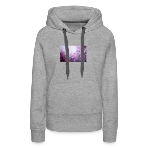 Life's field of flowers - Women's Premium Hoodie