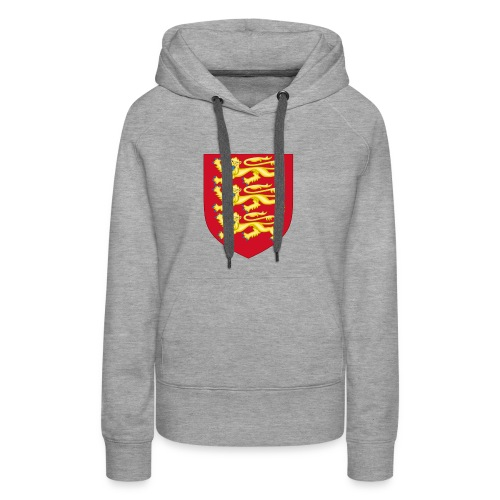 Royal Arms of England - Women's Premium Hoodie