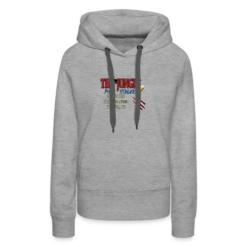 No Bar Jungle Stalker - Women's Premium Hoodie