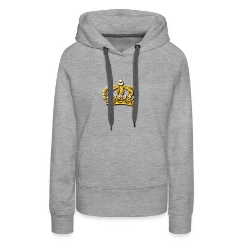 Gold crown - Women's Premium Hoodie
