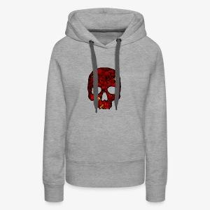 Red Skull - Women's Premium Hoodie