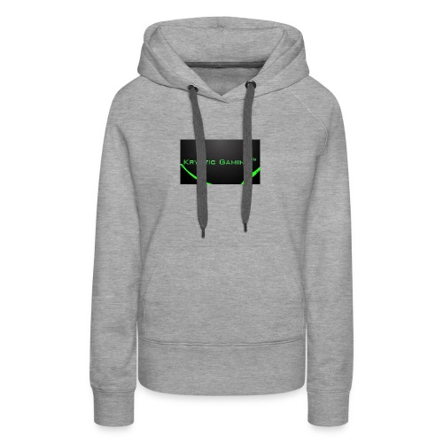 Kryptic Gaming Classic Design - Women's Premium Hoodie