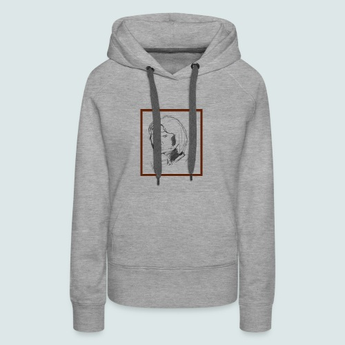 Self-portrait of Hye Rin Woo - Women's Premium Hoodie