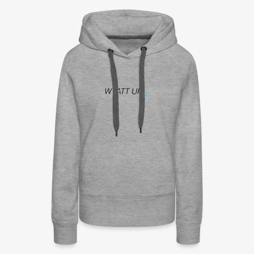 Wyatt Uh - Women's Premium Hoodie