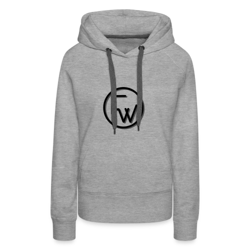 A Funny Wilson Production Black Logo - Women's Premium Hoodie