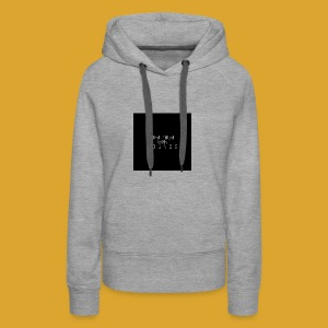 Mind Filled with Sounds - Women's Premium Hoodie