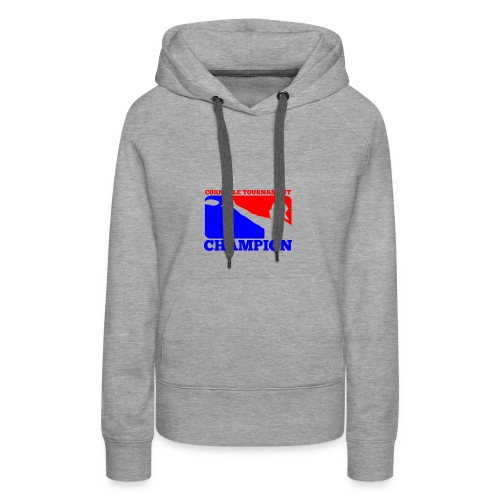 Cornhole Tournament Champion - Women's Premium Hoodie