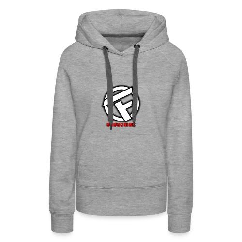 Subscribe Logo - Women's Premium Hoodie