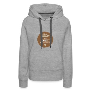 Not be Silenced - Women's Premium Hoodie