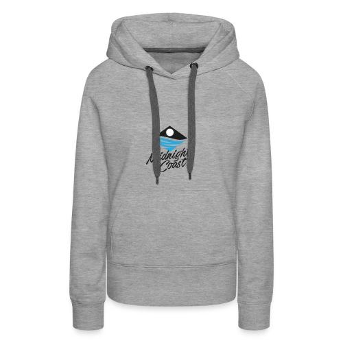 Midnight Coast Logo - PLUS Size Store - Women's Premium Hoodie