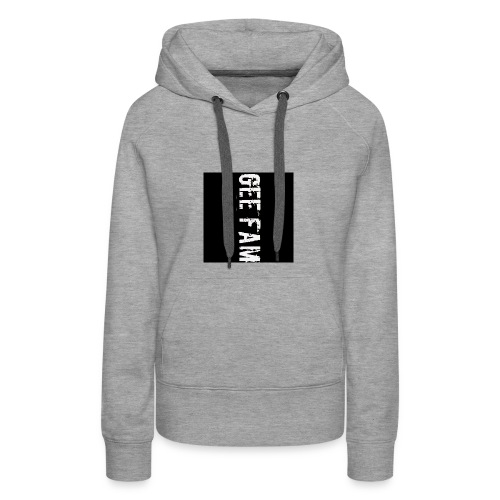 Gee fam clothing is the way to go - Women's Premium Hoodie