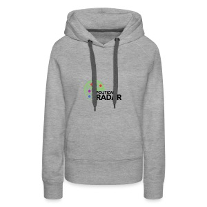 Political Radar Logo - Black - Women's Premium Hoodie