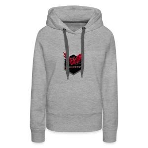 Ballistic logo Dragon glowing - Women's Premium Hoodie