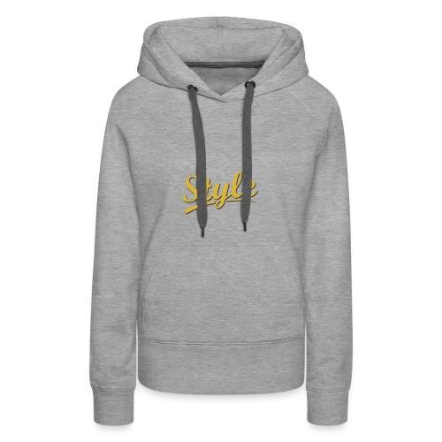 Step in style merchandise - Women's Premium Hoodie