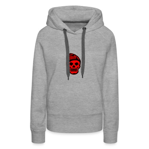 RED Skeleton HaHaHaHa - Women's Premium Hoodie