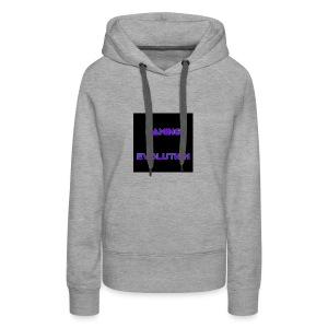 Ice black - Women's Premium Hoodie