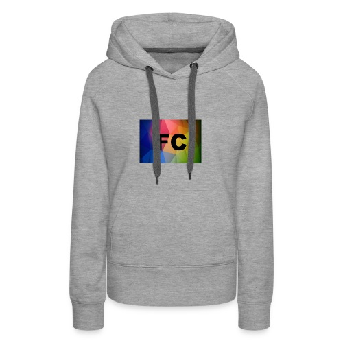 Abstract Colorful Geometric Shapes Background Vect - Women's Premium Hoodie