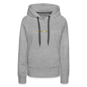 TROLLIEUNICORN gold text limited edition - Women's Premium Hoodie