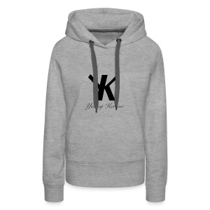 Young Kevino Official Logo (Black) - Women's Premium Hoodie