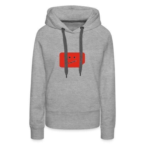 CraziLilBoy logo - Women's Premium Hoodie