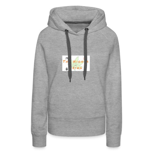 The Higher Being - Women's Premium Hoodie