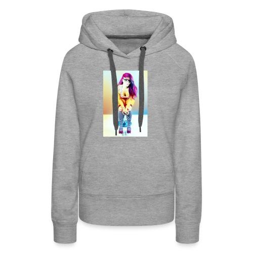 Rainbow Roxxy - Women's Premium Hoodie