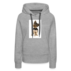 Curious pup - Women's Premium Hoodie