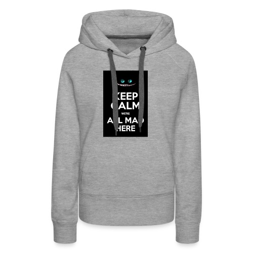 Words on shirt - Women's Premium Hoodie