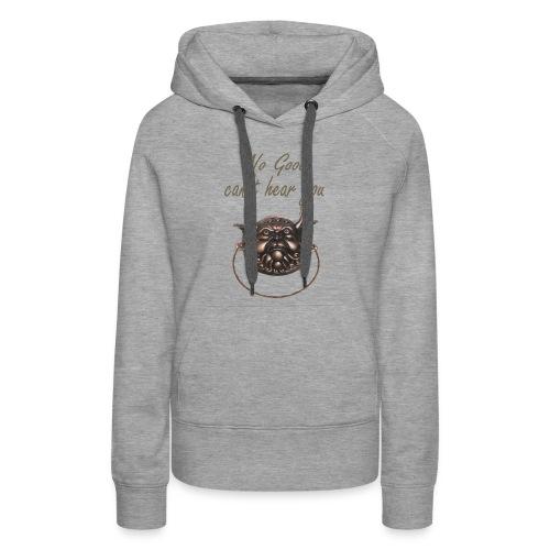 No Good Inspiration Shirts - Women's Premium Hoodie