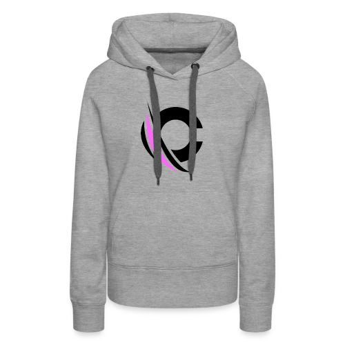 Black/Purple Clarity Apparel - Women's Premium Hoodie