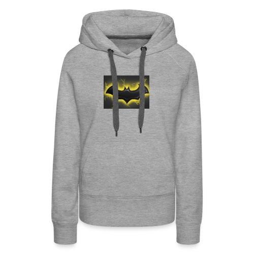 batman symbol by mushroomproductions d3d6cxs - Women's Premium Hoodie