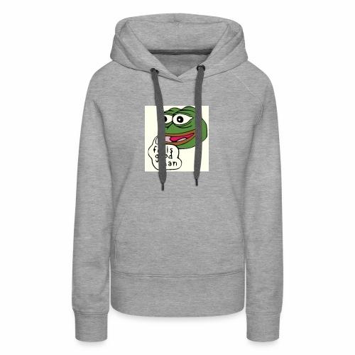 Feels good man, Pepe the frog - Women's Premium Hoodie
