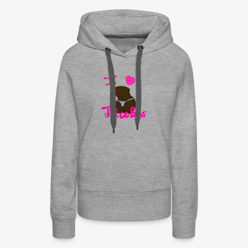 Thicc Boys (Dark Version) - Women's Premium Hoodie
