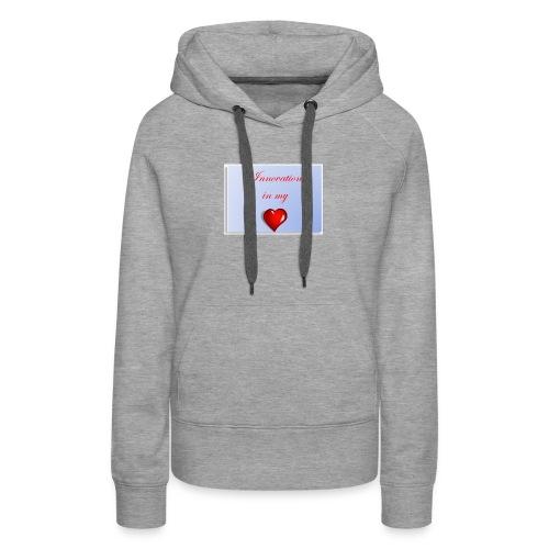 Innovation In my Heart - Women's Premium Hoodie