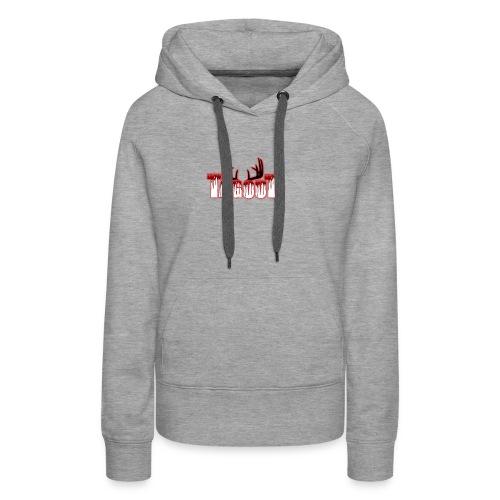 Tagout Bloody Antlers - Women's Premium Hoodie