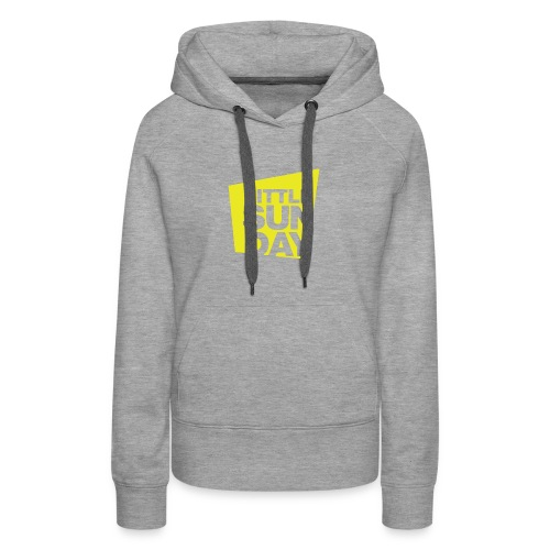littleSUNDAY Official Logo - Women's Premium Hoodie