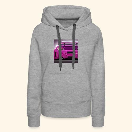 pink k - Women's Premium Hoodie