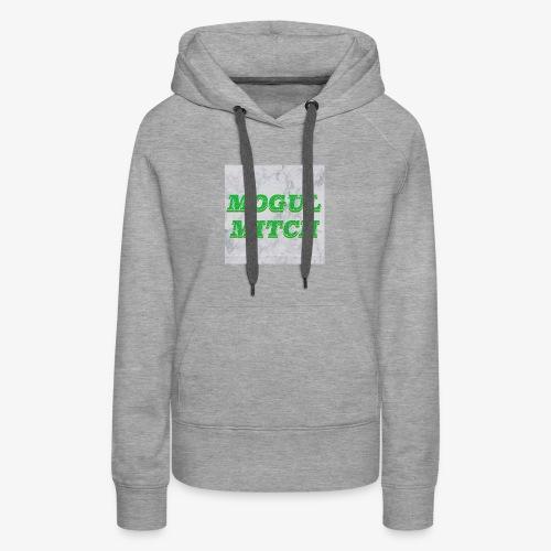 GREEN MOGUL - Women's Premium Hoodie