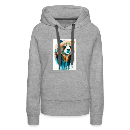 grizzly bear - Women's Premium Hoodie