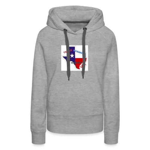 Hurricane Harvey Help - Women's Premium Hoodie