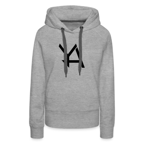 Young Adamant Black Logo - Women's Premium Hoodie