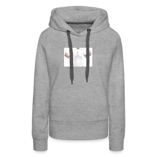 camiseta BB branca - Women's Premium Hoodie