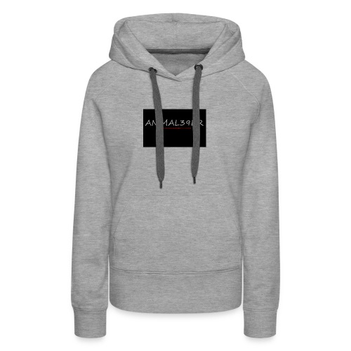 Animal39er with link - Women's Premium Hoodie