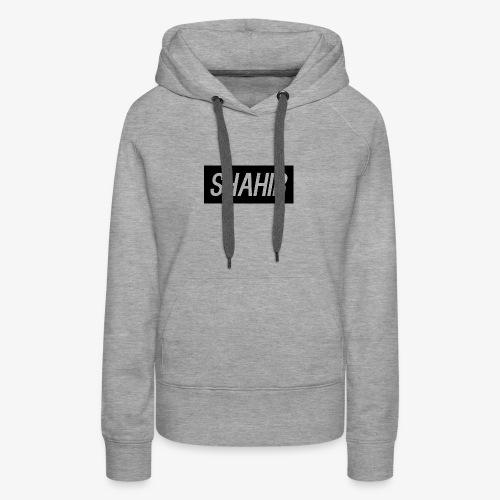 Shahir logo - Women's Premium Hoodie