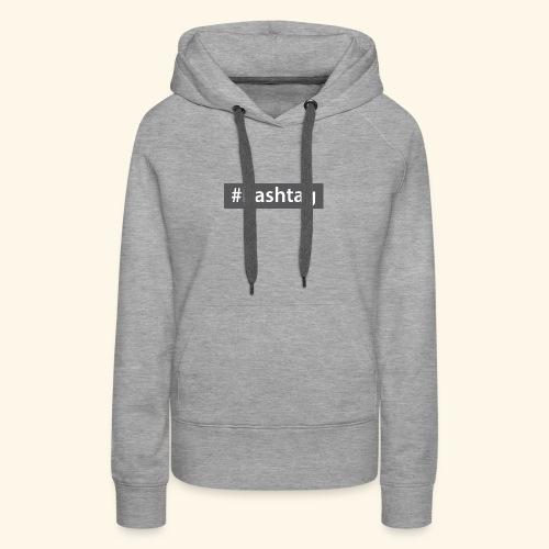 hashtag - Women's Premium Hoodie