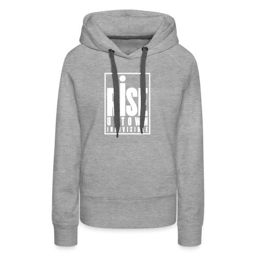 Rise Uptown Indivisible logo gear - Women's Premium Hoodie