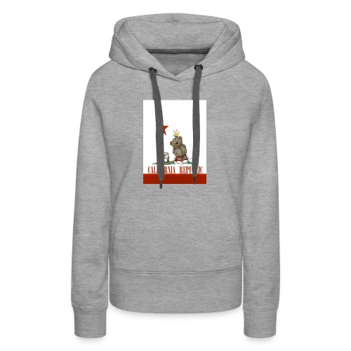 Lucky Number7 California Teddy NO Gunja Leaf - Women's Premium Hoodie