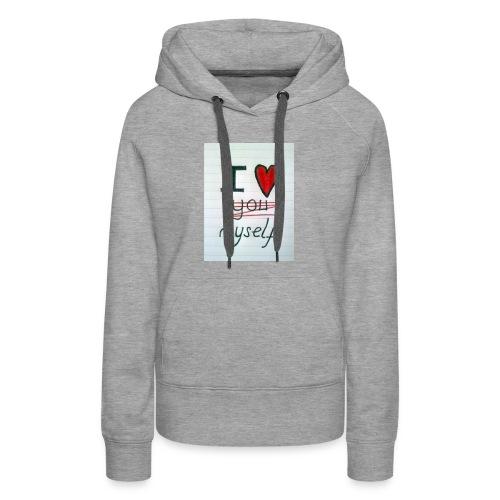 I love myself tshirts - Women's Premium Hoodie