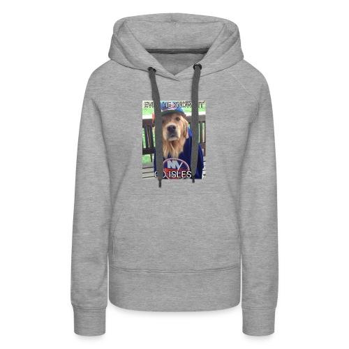 NY Islanders Dog Meme - Women's Premium Hoodie